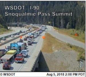 I-90 westound traffic