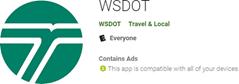 WSDOT phone app