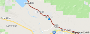 SR903 cle elum roslyn ronald State Route